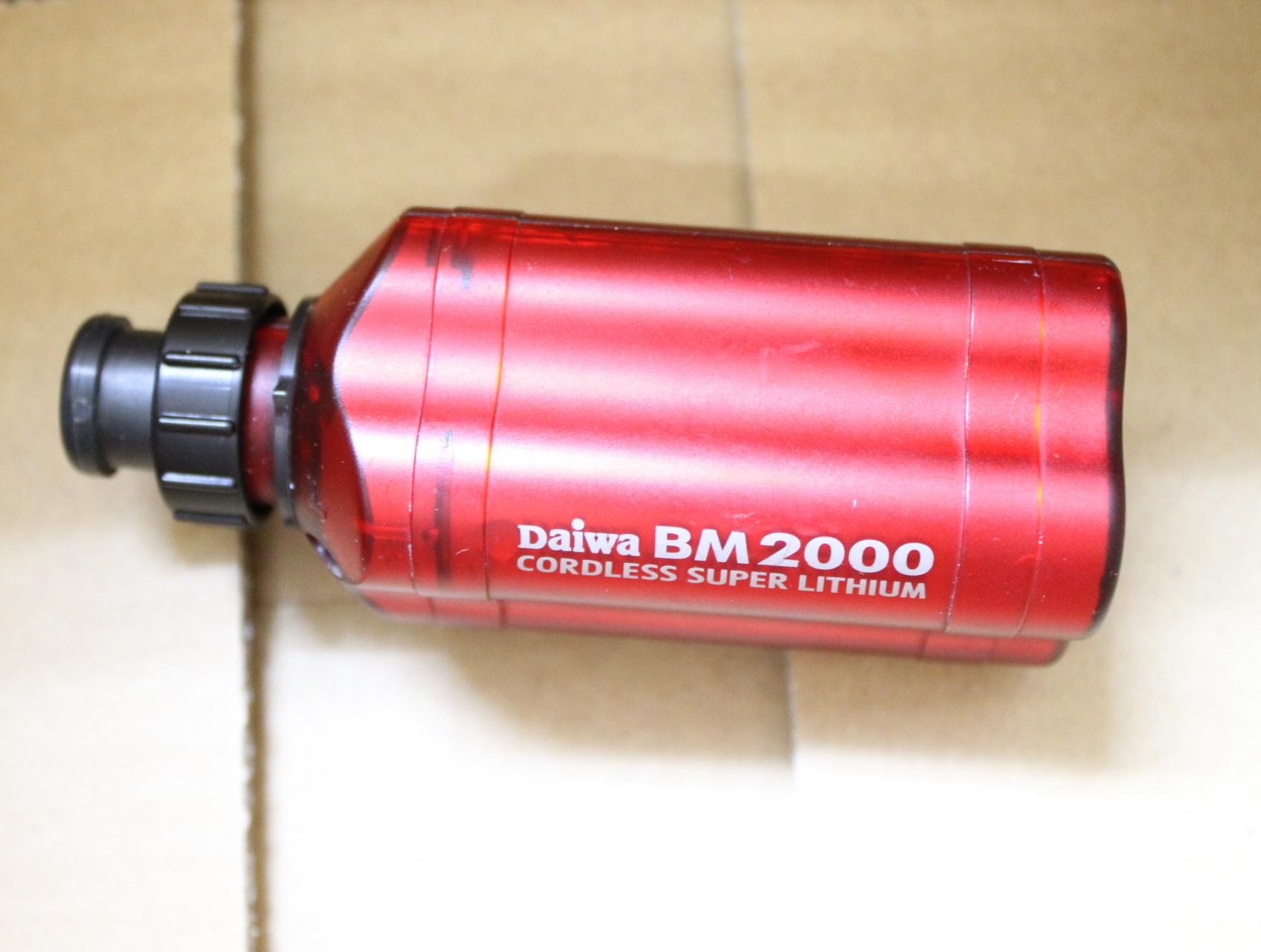 ダイワ スーパーリチウム BM2000 レッド