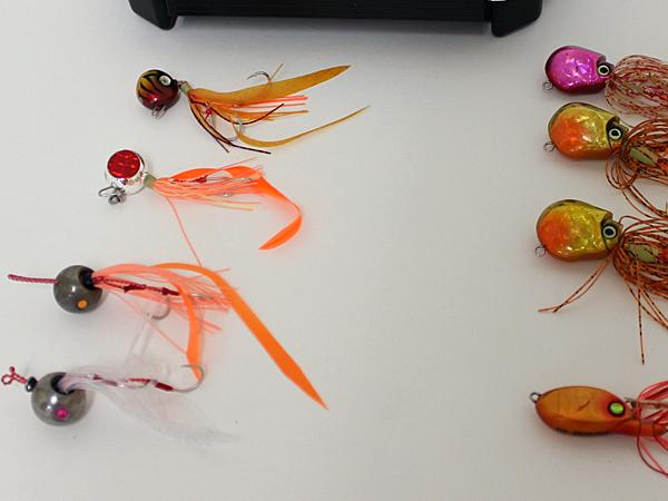 ☆ビンビン玉2個 など 鯛ラバ 12個 ケース付き