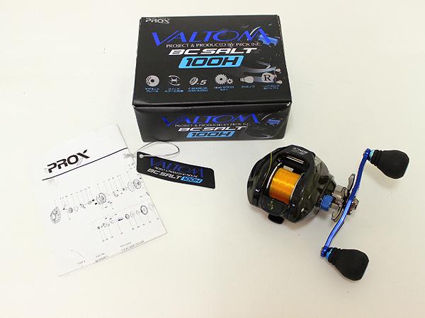 プロックス バルトム BC-ソルト 100HK ブラック
