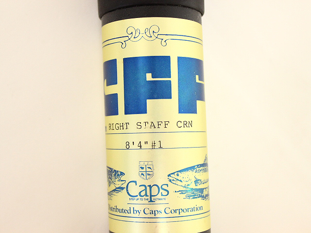 CFF CAPS ライトスタッフ CRN 8'4″#1