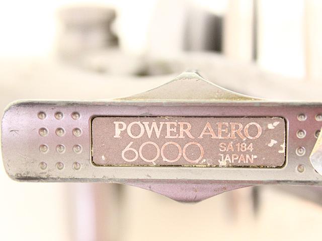 シマノ パワーエアロ 6000 SA184