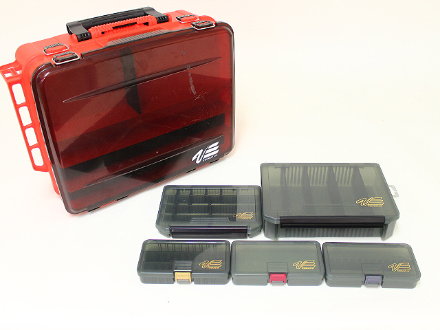 メイホー バーサス タックルボックス ツールケース 6個