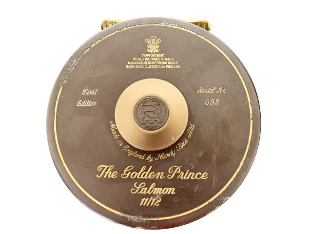 ハーディ ゴールデンプリンス リール 2個セット '85年限定 木箱入