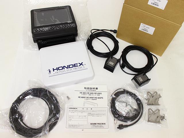 ホンデックス HE-820F 魚群探知機 未使用品