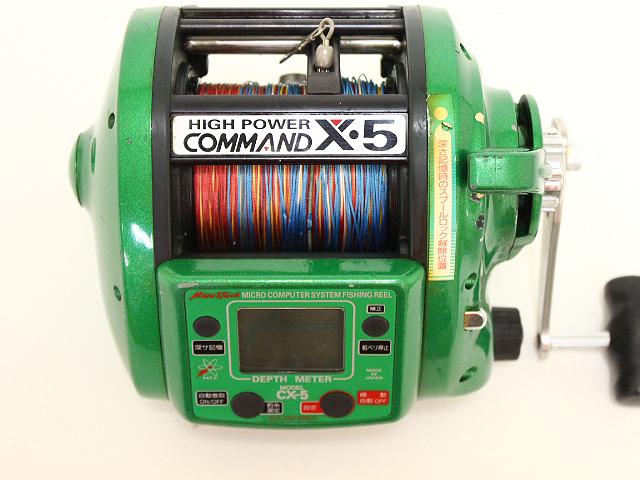 ミヤマエ ミヤエポック コマンド X・5 CX-5 電動リール