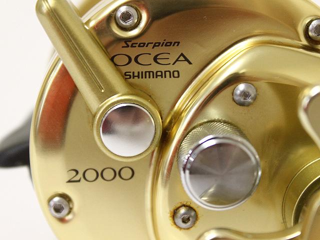 シマノ スコーピオン オシア ジガー 2000