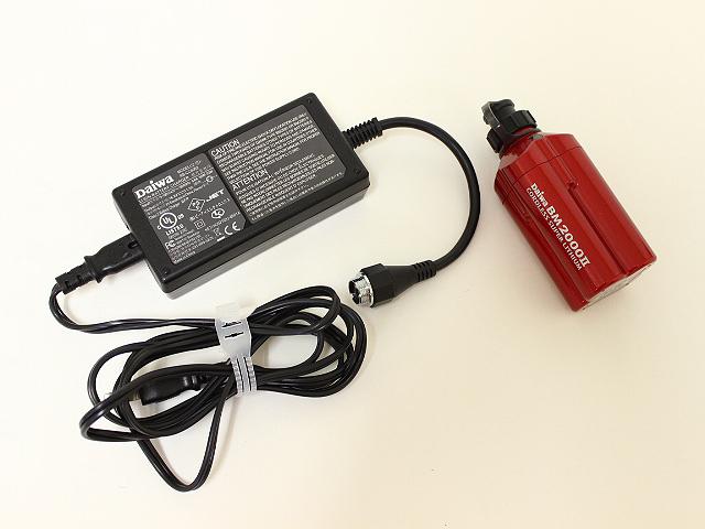 ダイワ スーパーリチウム BM2000Ⅱ/充電器セット