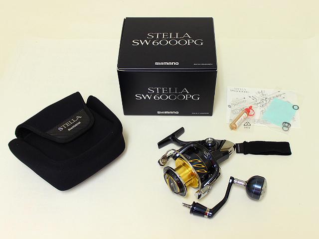 シマノ Shimano 13ステラSW 6000PG