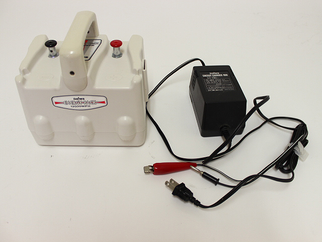 ダイワ エナジーパック12000WPⅢ 充電器セット
